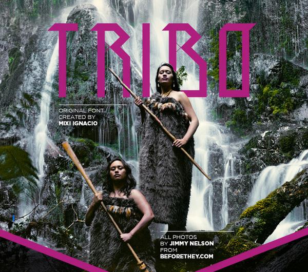 TRIBO Free Font