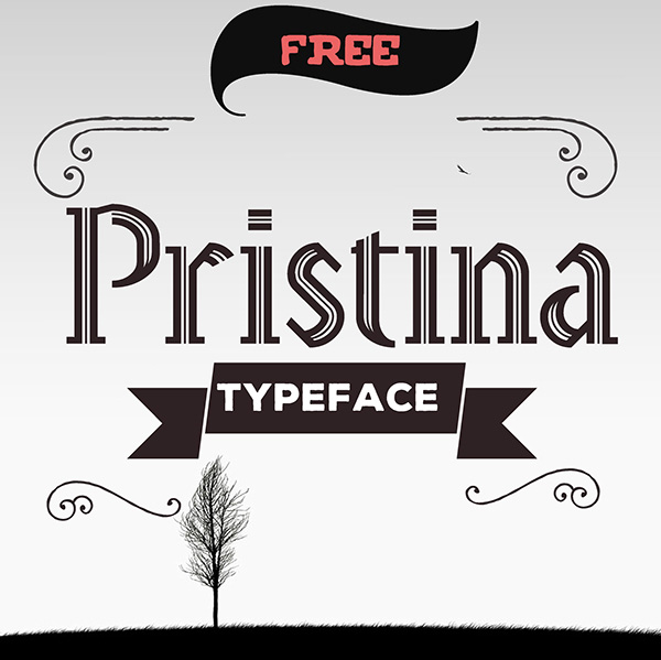 Pristina Free Font