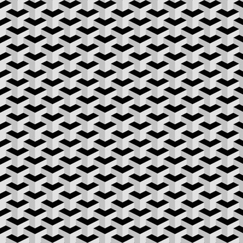 Create a Seamless, 3D, Geometric Pattern in Photoshop