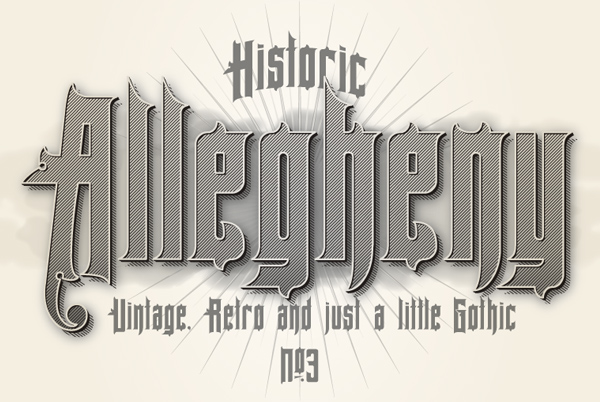 Allegheny Free Font
