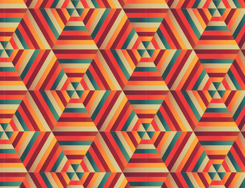 How to Create a Blended Hexagonal Print Design in Adobe Illustrator
