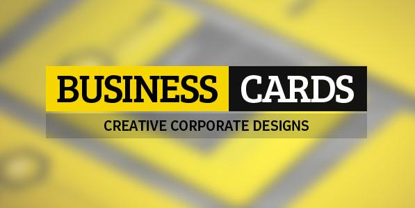 28 Creative Corporate Business Cards Design