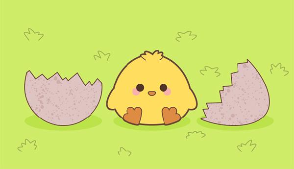 Create a Cute Spring Chick in Illustrator