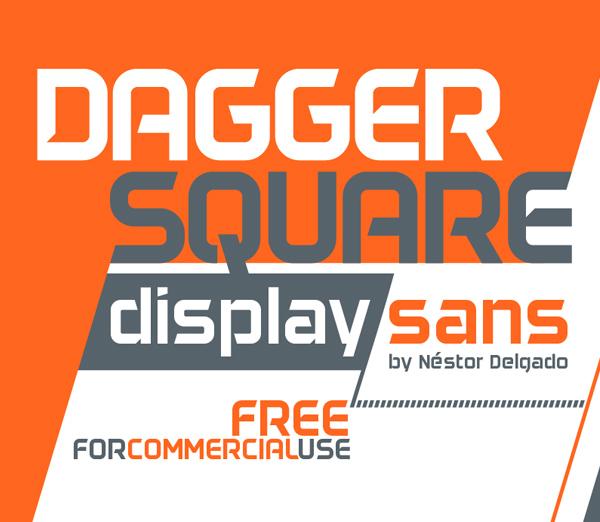 Daggersquare Free Font