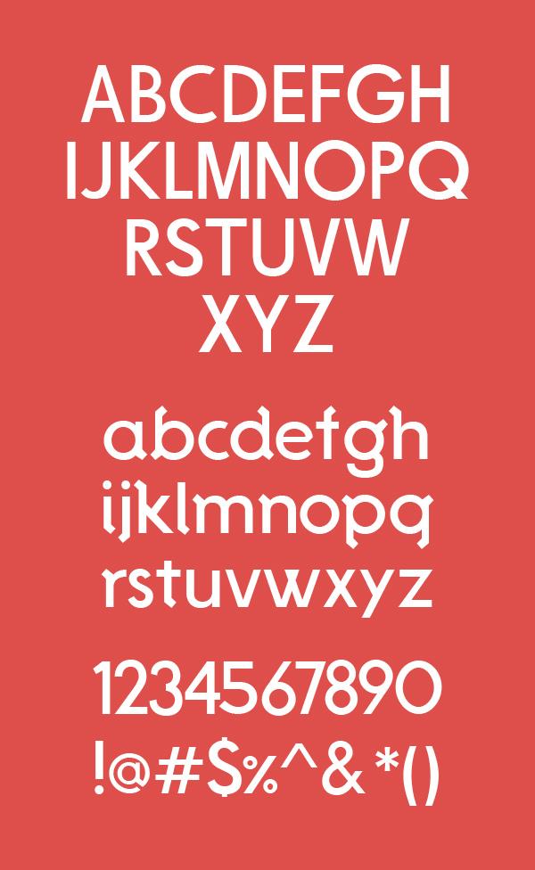 De La Fuente Font Letters
