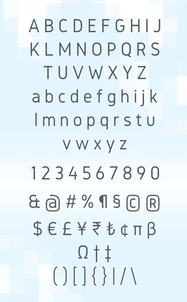 Gidole Font Letters