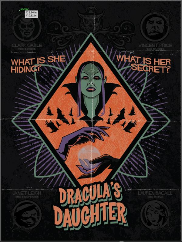 Create Horror Movie Poster in Adobe Illustrator