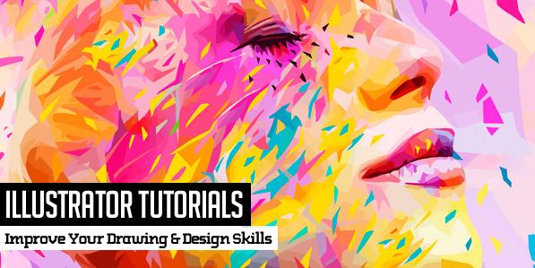 Illustrator Tutorials: 25 New Tutorials for Improve Your Design Skills