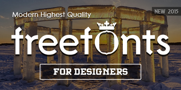 20 Fresh Free Fonts for Designers