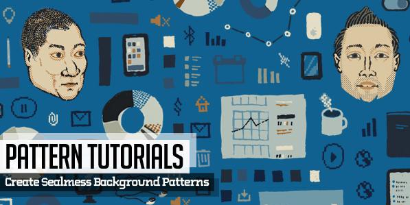Pattern Tutorials: 25 Background Pattern Design Tutorials & Free Patterns