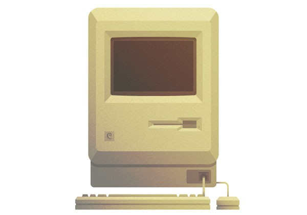 How to Create a Vintage Macintosh in Adobe Illustrator
