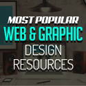 Post thumbnail of Most Popular Web and Graphic Resources for Designers