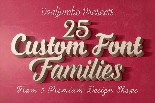 Best Custom Fonts Mega Bundle