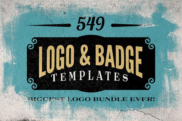 Logo/Badge Templates Mega Bundle