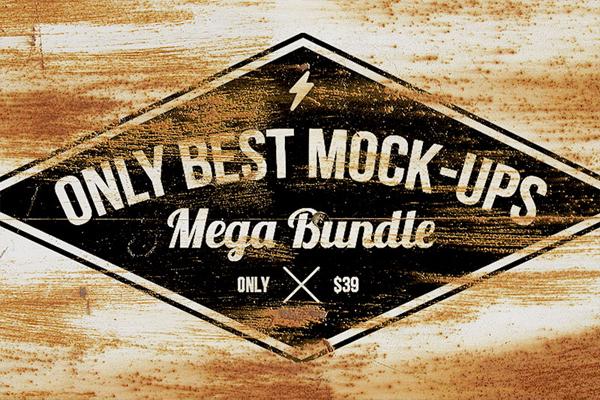 Only Best Mock-ups Mega Bundle