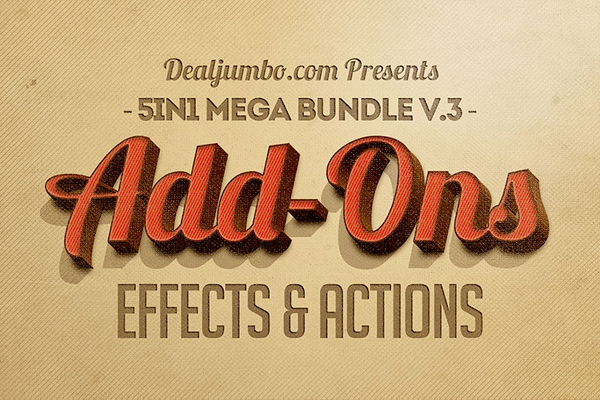 Photoshop Photo Effects & Actions Mega Bundle