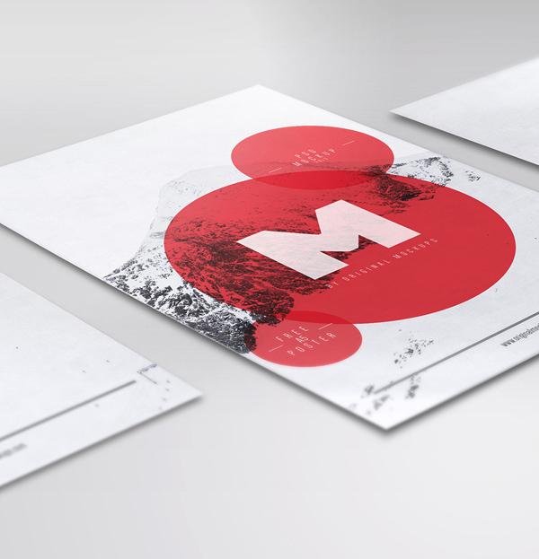 Free Flyer / Poster PSD Mockups