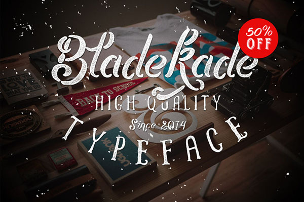 Bladekade Font