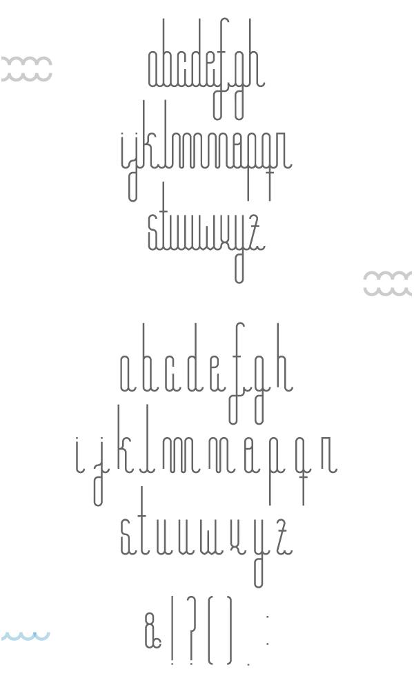 Barcelona Font Letters