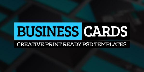 26 Modern Business Cards PSD Templates (Print Ready)