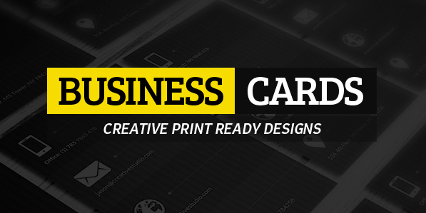 25 Creative Business Cards Design (Print Ready)
