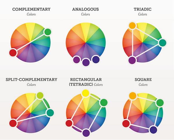 color schemes wheels