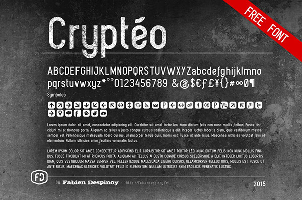 Cryteo Font
