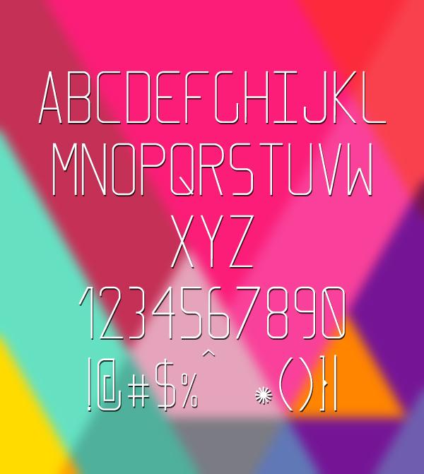 Elcsa Font Letters