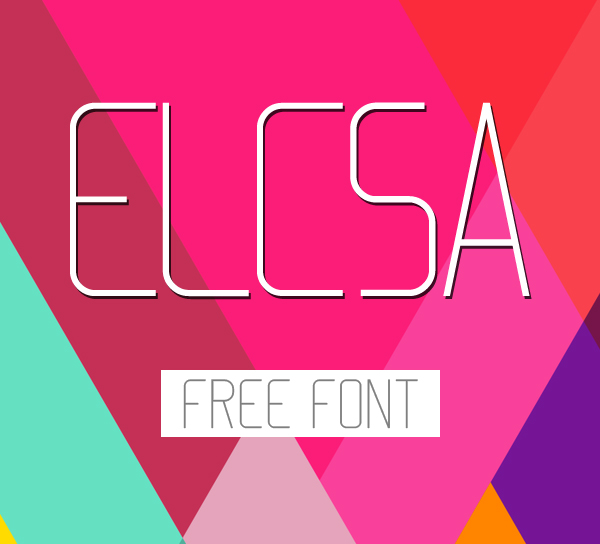 Elcsa Free Font