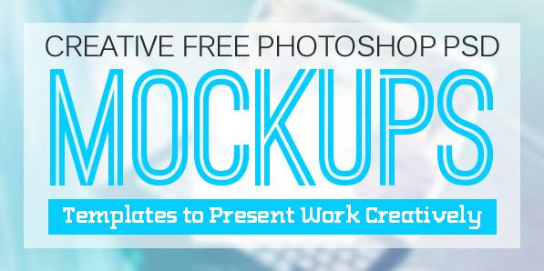 Latest Free PSD Mockup Templates for Designers (26 MockUps)
