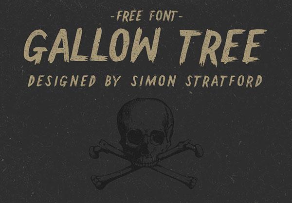 Gallow Tree free font