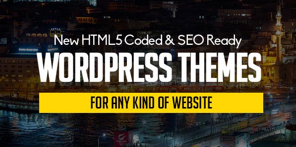 15 New Responsive WordPress Themes with Modern UI