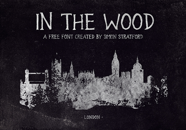In the Wood Free Font