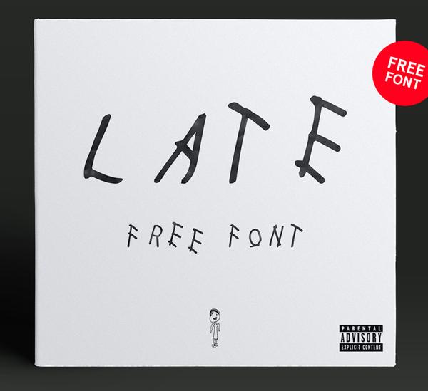 Late Regular Free Font