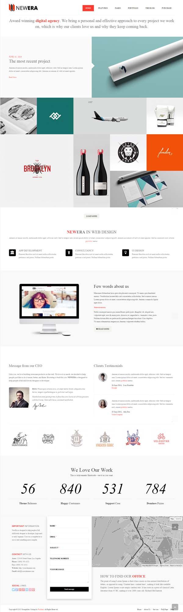 NEWERA - Smart Portfolio and Business Template
