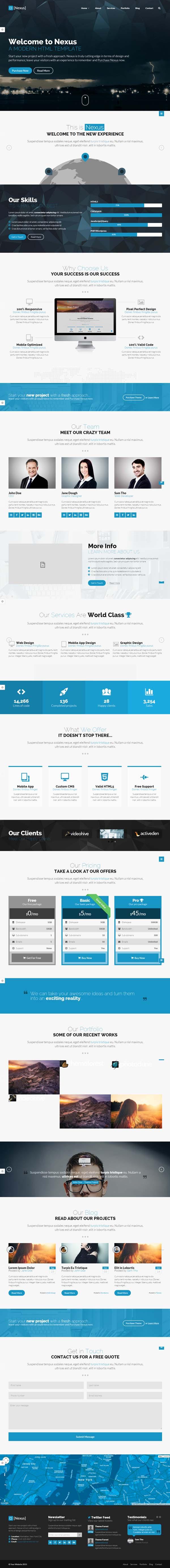 Nexus - Responsive Multipurpose HTML5 Template