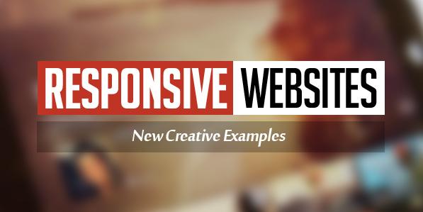 Responsive Websites Design – 26 Creative Web Examples