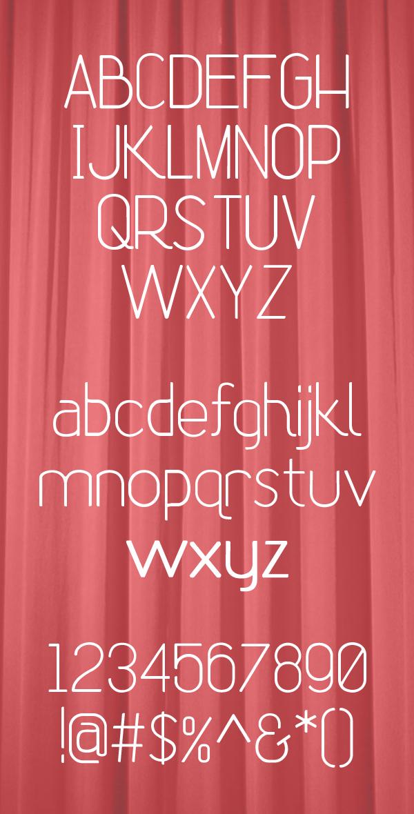 Rhetoric Font Letters