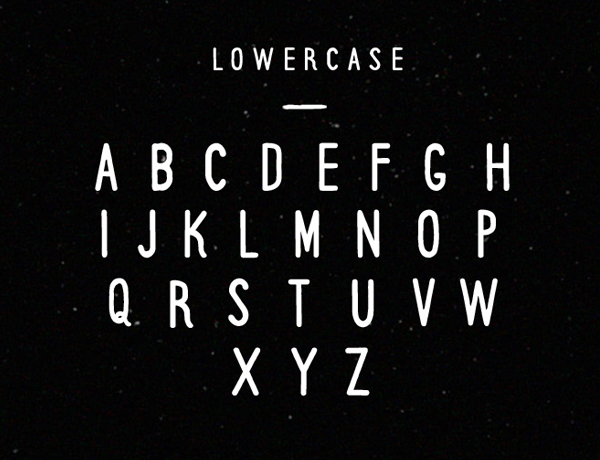 Runaway Font Letters