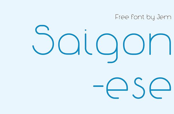 Saigonese Free Font
