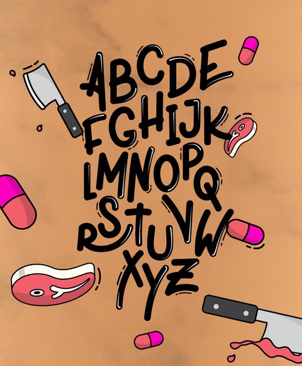 Xplor Font Letters