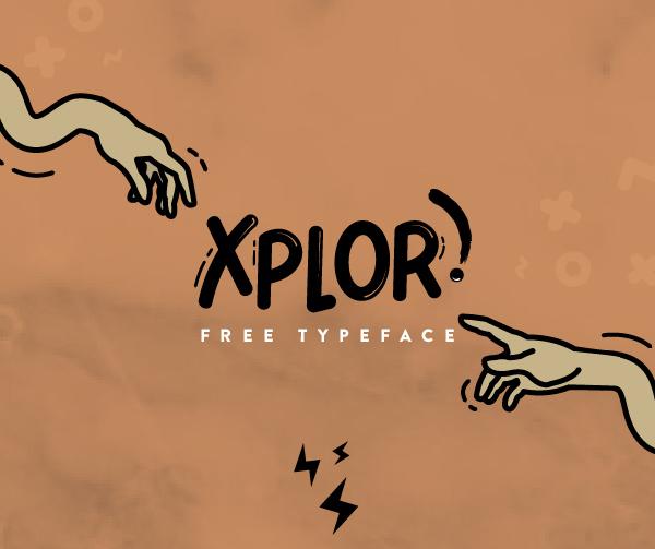 Xplor Free Font