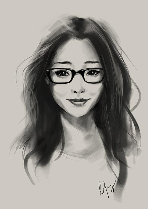 Amazing Portrait Illustrations by BoFeng