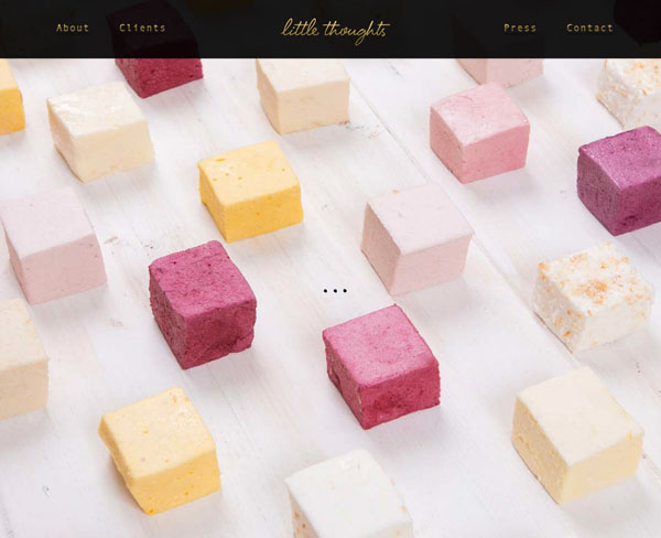 One Page Websites – 42 New Web Examples - 20