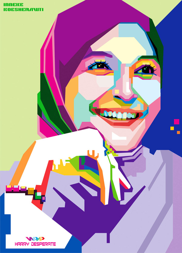 Inneke Koesherawati In WPAP by harrypotro