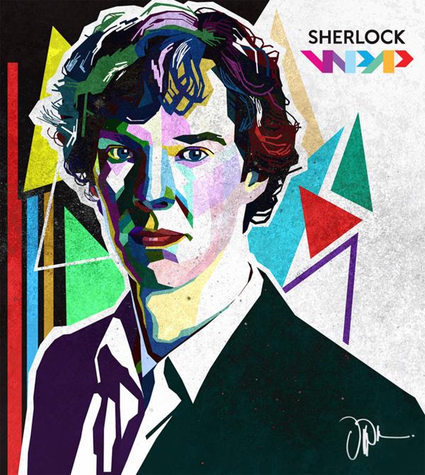 Sherlock WPAP by dipizamora