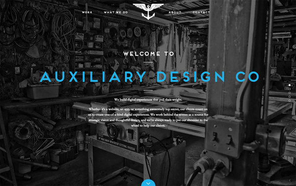 One Page Websites – 42 New Web Examples - 31
