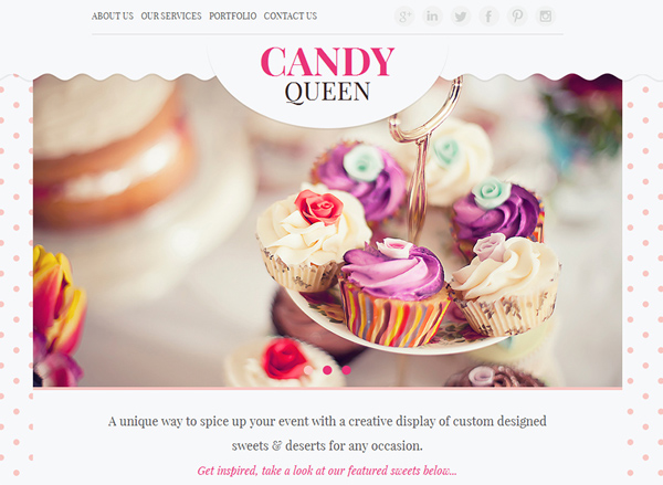 One Page Websites – 42 New Web Examples - 38
