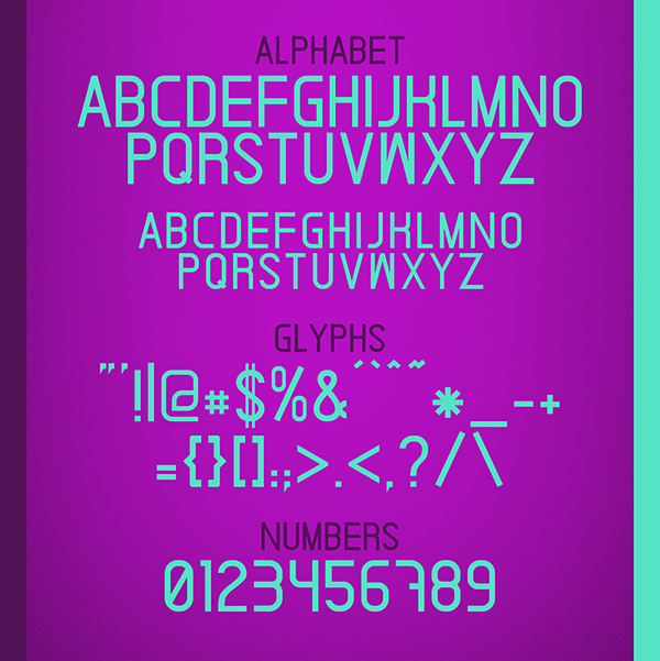 Ardnas Font Letters