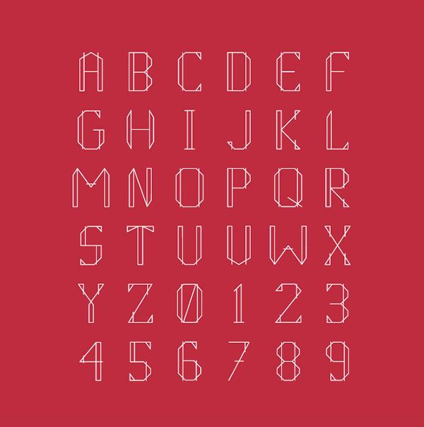Athena Font Letters